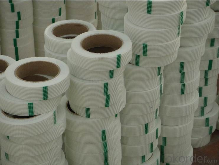 Fiberglass Self-adhesive Mesh Tape Roll for Promotion