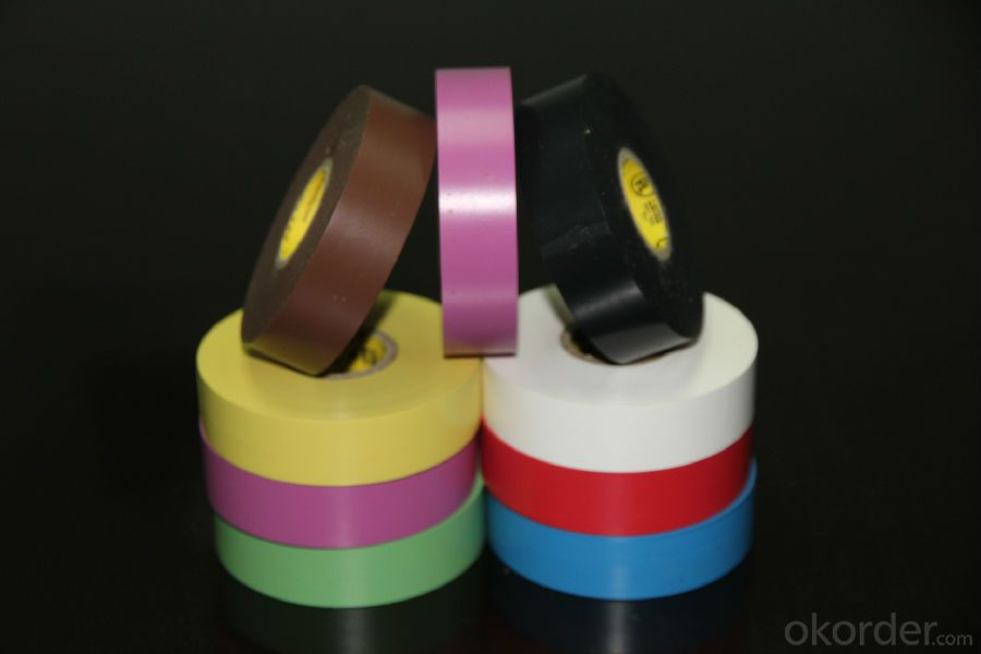 PVC Tape of Good Waterproof Dampproof and Insulation for Pipe Wrapping