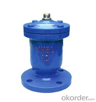 Air Evacuation Valve DN508 with Solar Water Heater Exhaust Valves