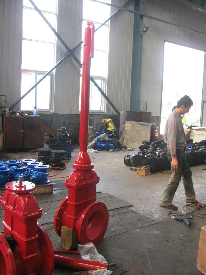 NRS Gate Valve on Sale Manufacturer UL/FM from  China'