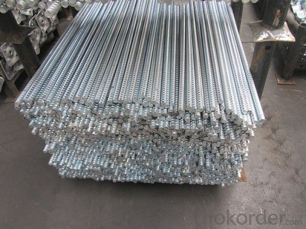 Steel Galvanized Scaffolding  Forged 17mm Formwork Tie Rod