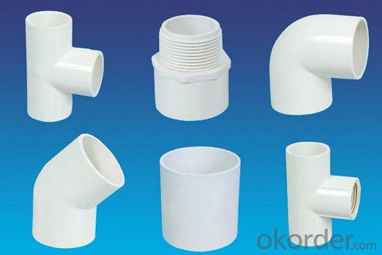 PVC Pressure Pipe Plastic Building Materials on Sale