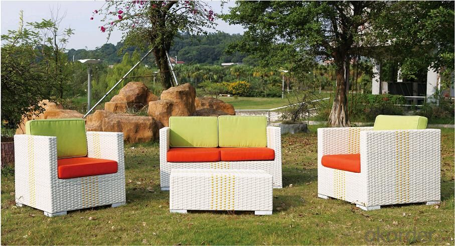 Outdoor Furniture Waterproof  Rattan PE Sofa Sets