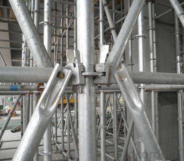 Ring-lock Scaffolding for High-efficiency Constructions Progress