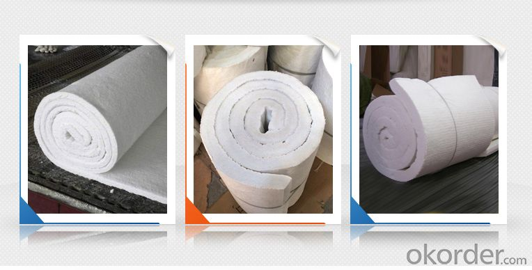 heat insulation bio-soluble ceramic fiber blanket for boiler insulation