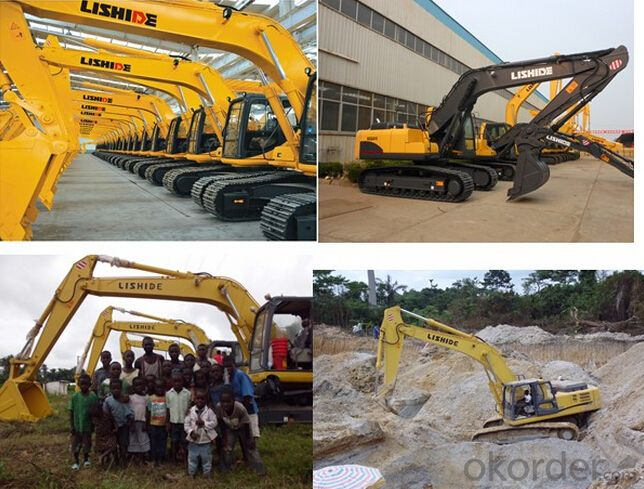 Hydraulic Crawler Excavator 24 Ton for Sale
