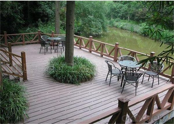 Outdoor plastic vinyl decking boards from CNBM