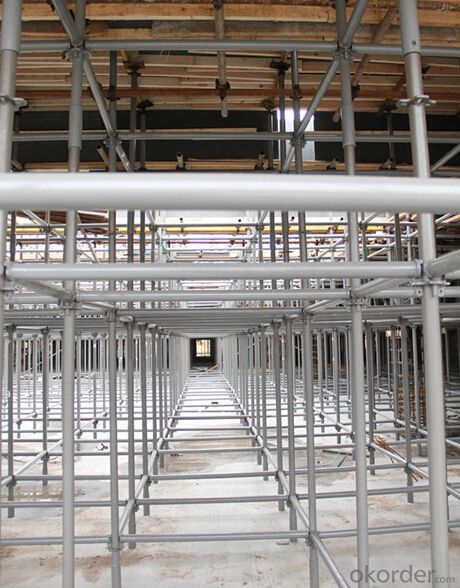 Ring-lock Scaffolding for Slab Formwork System,Easy Maintenance