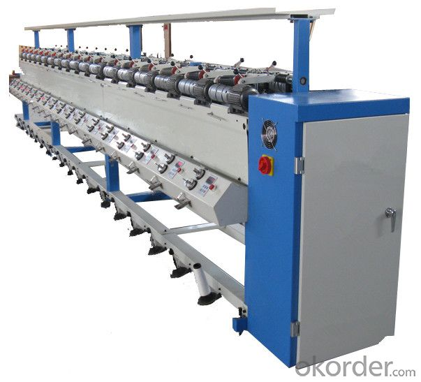 High Speed Yarn Bobbin Winder Machine for Winding Yarn
