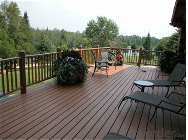 Waterproof plastic dock decking from China