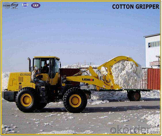 5 Ton Cotton Gripper for 17 Ton Front End Chinese Wheel Loader