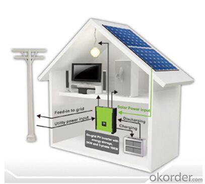 On-Grid Energy Storage PV Inverter PH500 Series 1-phase 2KW