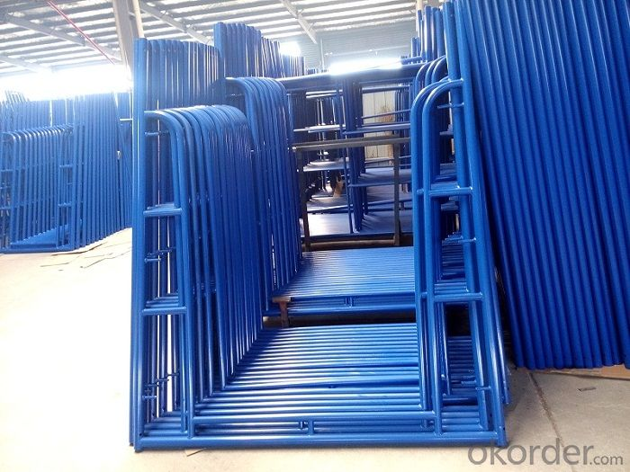 Powder Coated Walk Through Frame Scaffolding for Constrcution