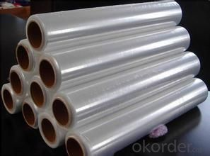 Stretch Wrap Film Clear Wrap Film Transparent Stretch Film for Good Packaging