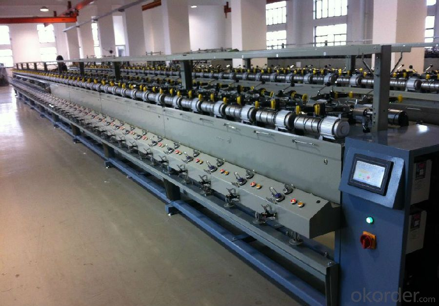 Soft Textile Yarn Bobbin Winder Machinery