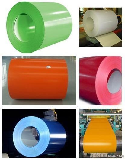 Pre-painted Aluzinc Steel Coils/ Color Steel Coils in Sheets and Plates/PPGI