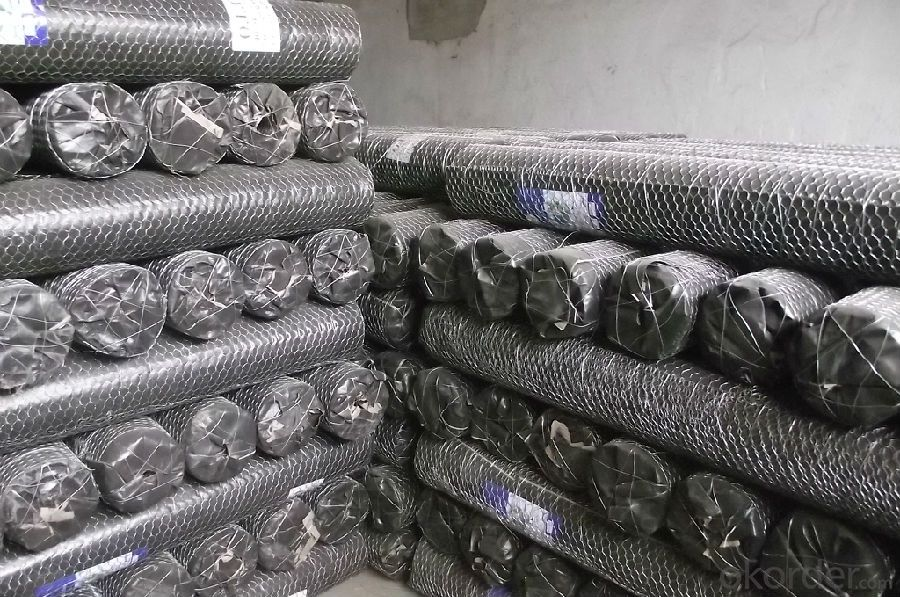 Hexagonal wire mesh、Six wire mesh、Galvanized angle six