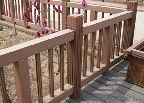 Wood Plastic Composite WPC Tiles Wood Composite Floor Decoration Outdoor