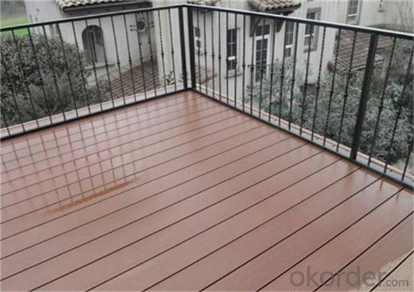 Wpc Deck Tile Solid And Grooved Waterproof Garden For Sale China