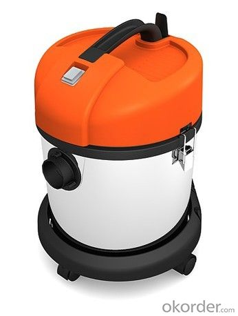 Wet and Dry Vacuum Cleaner with Optional Plastic and Metal Barrel CNWD67