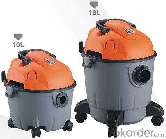 Wet and Dry Vacuum Cleaner with Plastic Barrel CNWD6208-10L/18L
