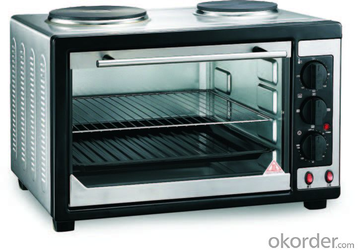Electric Oven with Two Hot Plate with Convection Function