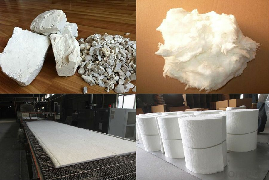 High Heat Insulation Ceramic Fiber Bulk STD