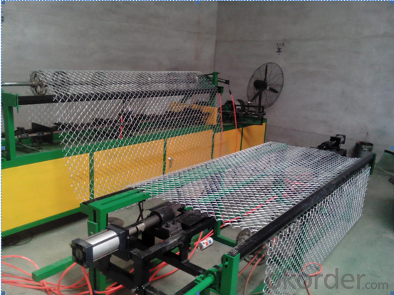 Chain Link Fence Machine with Full automatic and semi automatic