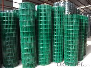 PVC Welded Wire Mesh/ Made of High Quality Wire Factory Price