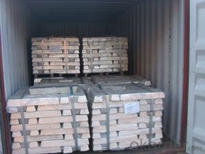 Metallic Magnesium Ingot High Quality Mg>99.95%  from Factory