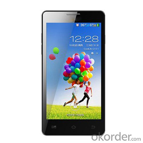 New Smartphone 5 Inch Quad Core Cheap China Android 4.4 Mobile Phone
