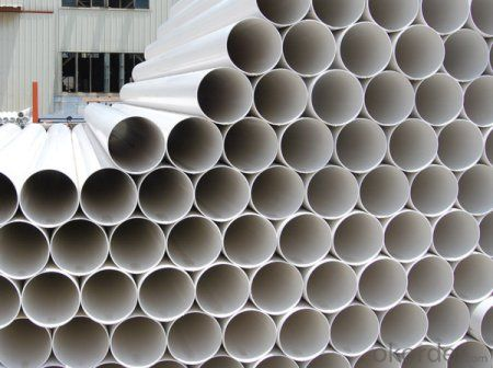 PVC Pipe   0.6MPa  Specification: 16-630mm Length: 5.8/11.8M Standard: GB