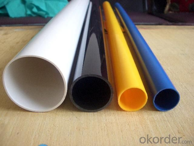 PVC Pipe   16 to 630mm Specification: 16-630mm Length: 5.8/11.8M Standard: GB