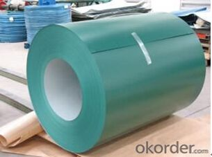Color Coated Galvanized Steel Coil  PPGI in Yellow
