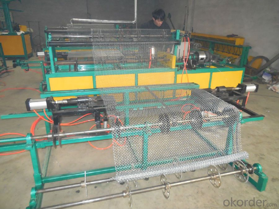 Chain Link Fence Machine with ISO CE CO OEM
