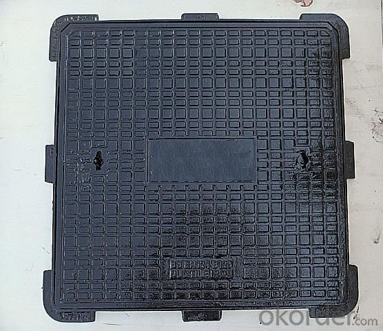 CMAX  EN124 Class B125 C250 D400 Manhole Cover for Vehicular and Pedestrian Areas