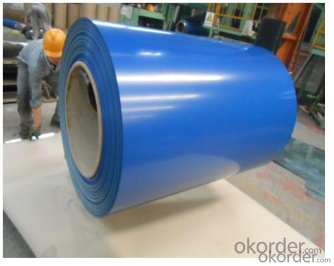 PPGI Color Coated Galvanized Steel Coil Bule Color