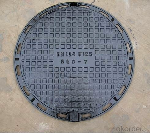 CMAX  B125, C250, D400 Manhole Cover for Vehicular and Pedestrian Areas