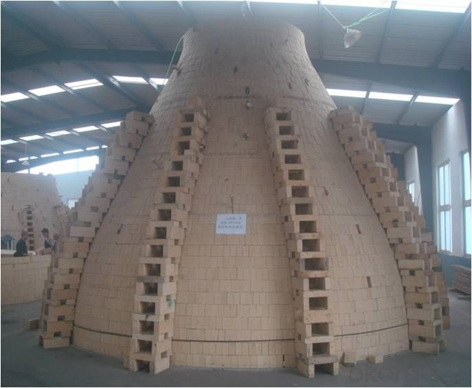 Heavy Desity Refractory Silica Bricks Sio2 95%