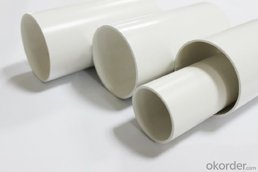 PVC Pressure Pipe (PN10&16) ASTM, AS,BS,ISO, GB, various color