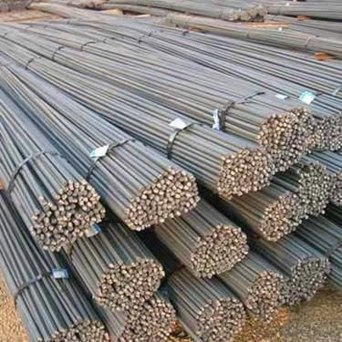 Hot rolled deformed steel bar for construction