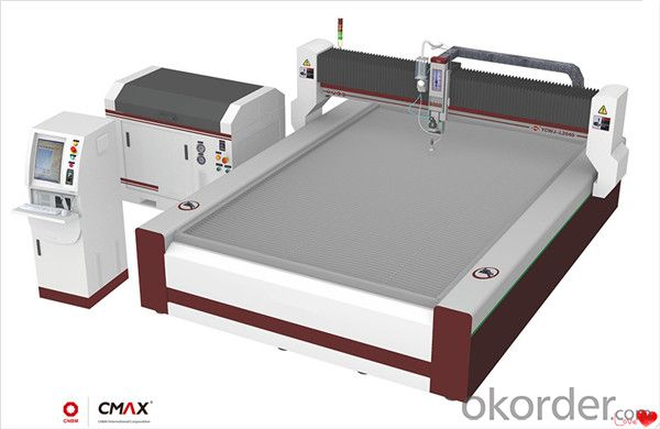 CNC Cutting Table Quick Position Some or Few Fixing Equipments
