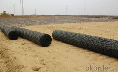Uniaxial Plastic Geogrid CE certificate good quality