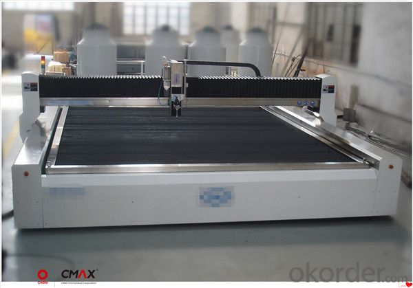 CNC Waterjet Cutting Machine Stainless Marble Glass Brass