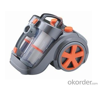 Bagless Cyclone Canister Vacuum Cleaner with Dual Dust Cups and HEPA Filters CNCL6212