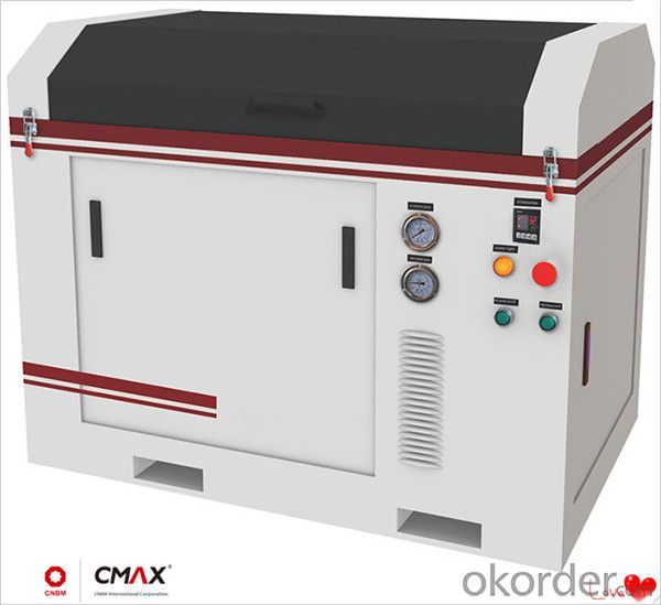 CNC Acrylic Cutting Machine Clear Processing In No Need of Clear the Working Parts Again
