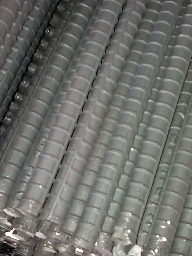 Hot rolled  deformed steel bars for construction