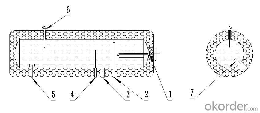 Integrative Pressurized Stainless Steel Solar Water Heater Model SP-HS