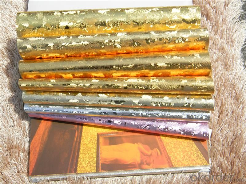 Metallic Wallpaper Multifunctional Plain Wallpaper Made in China