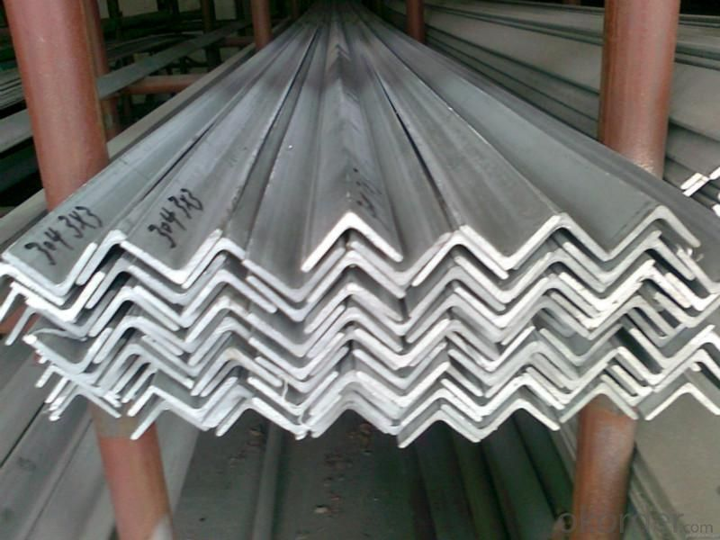 Equal steel angle for construction common